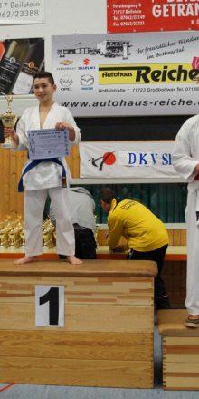 Mustafa Özdemir gewinnt den Deutschen Shito Ryu Cup