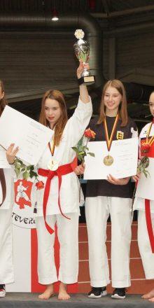 Zita Hetzer – Deutsche Karate Vizemeisterin