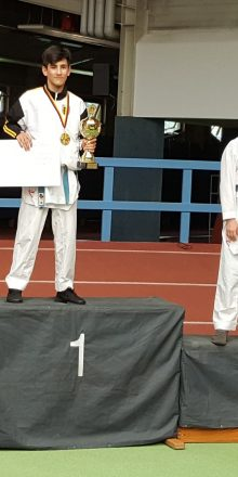 3 x Edelmetall bei Deutscher Meisterschaft