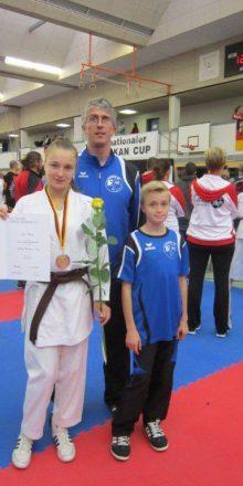 Silber beim internationalen Shotokan Cup des Deutschen Karate Verbandes