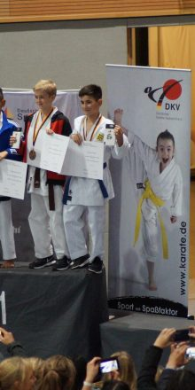 Muhammed ist 3. Deutscher Meister