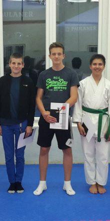 Karate Kyu Prüfung in Wiesloch