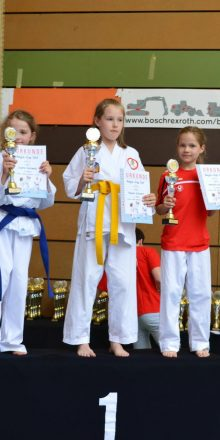 Karate Nachwuchs startet durch