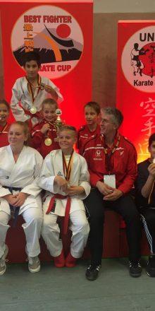 Beste Leistung beim Best Fighter Karate Cup