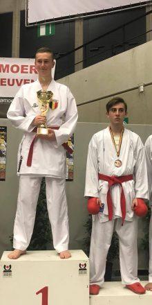 Belgian Open – Silber und 2 x Bronze